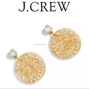 J.Crew Disc Stud earrings